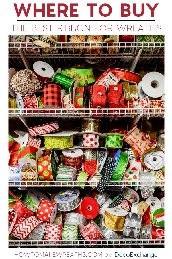 Where to Buy the Best Ribbon For Wreaths