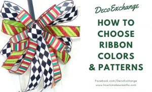 ribbon colors and patterns