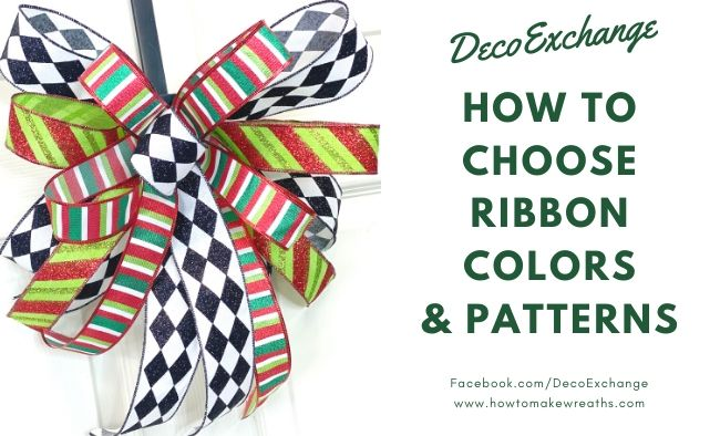 How To Choose Ribbon Colors and Patterns For Your Project
