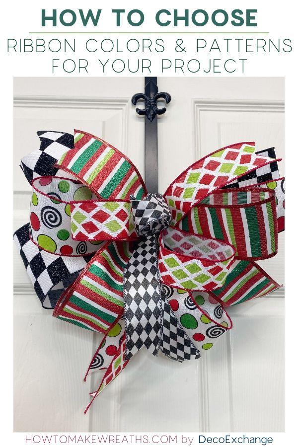 choosing ribbon colors and patterns