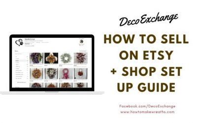 How To Sell On Etsy: Easy To Follow Guide To Opening An Etsy Shop