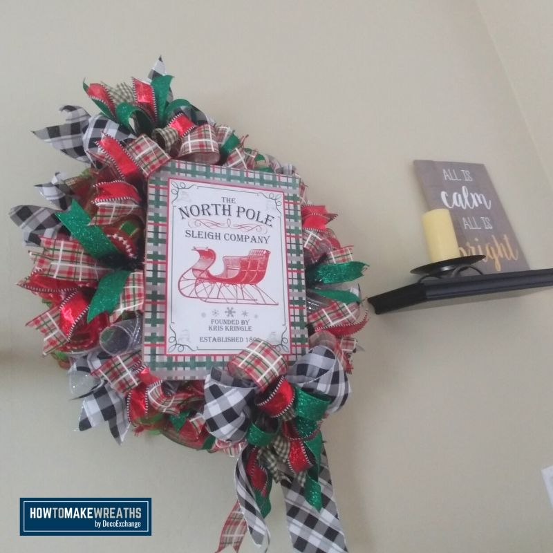 How to Display Wreaths at Home Besides the Front Door