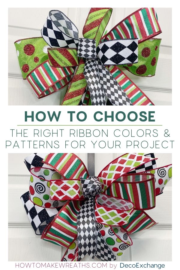How to choose ribbon colors and patterns