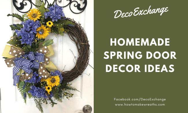 32 Homemade Spring Decorating Ideas