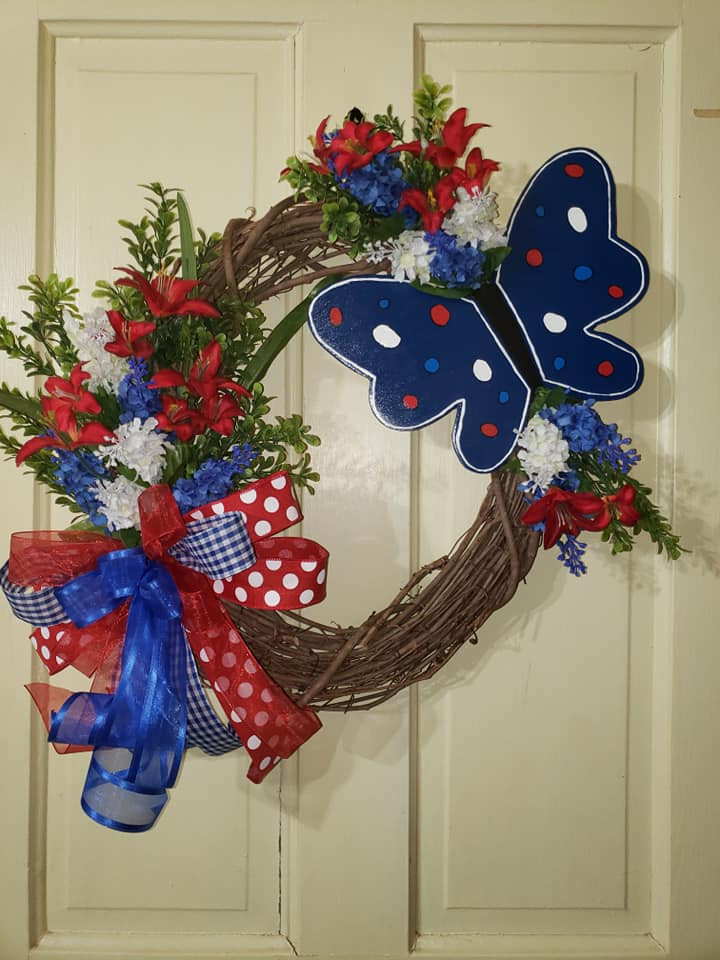 Wreaths of Time - Butterfly Wreath