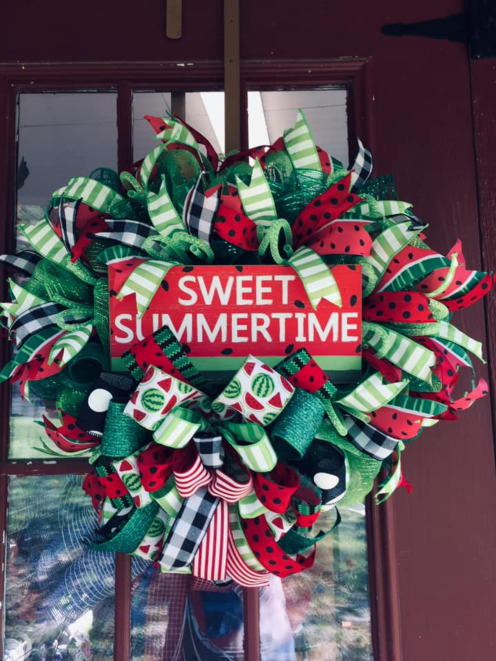 Made with Joy - Summer Watermelon Wreath