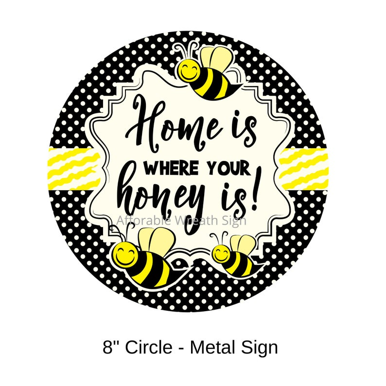 Bumble Bee Sign