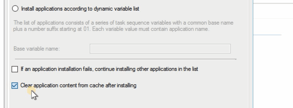 SCCM 1906 Upgrade - Clear Application Content from Cache