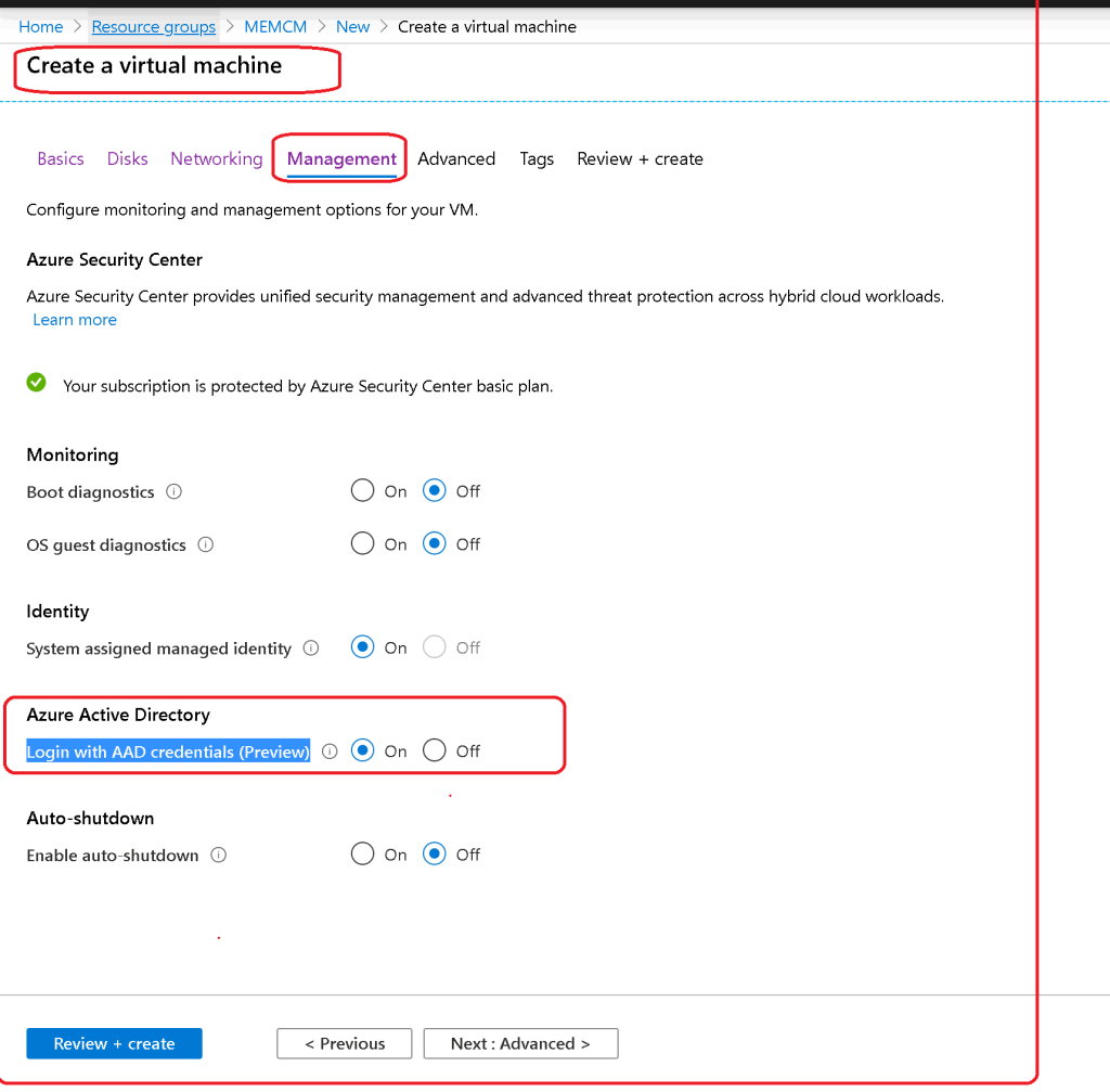 Login with AAD credentials to ON - Take RDP of Azure AD Joined Azure VM