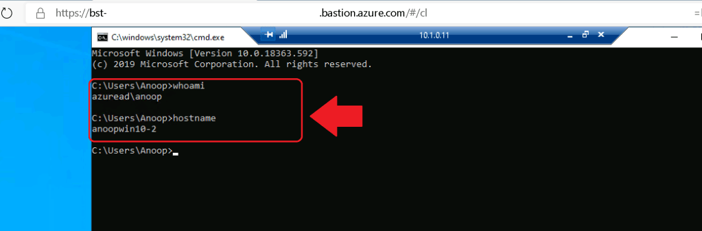 How to Take RDP of Azure AD Joined Azure VM using Bastion 1