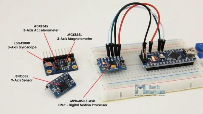 Arduino and MPU6050 Accelerometer and Gyroscope Tutorial | FutureLab3D
