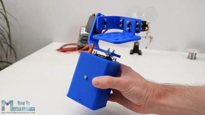 DIY Arduino Gimbal Self-Stabilizing Platform with MPU6050 sensor