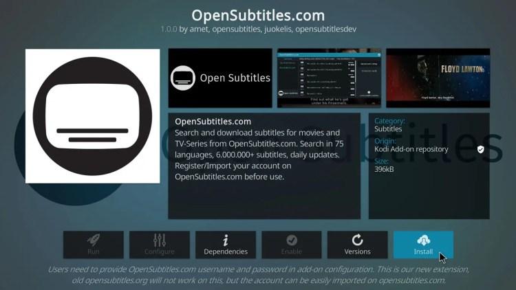 enable subtitles on kodi 17