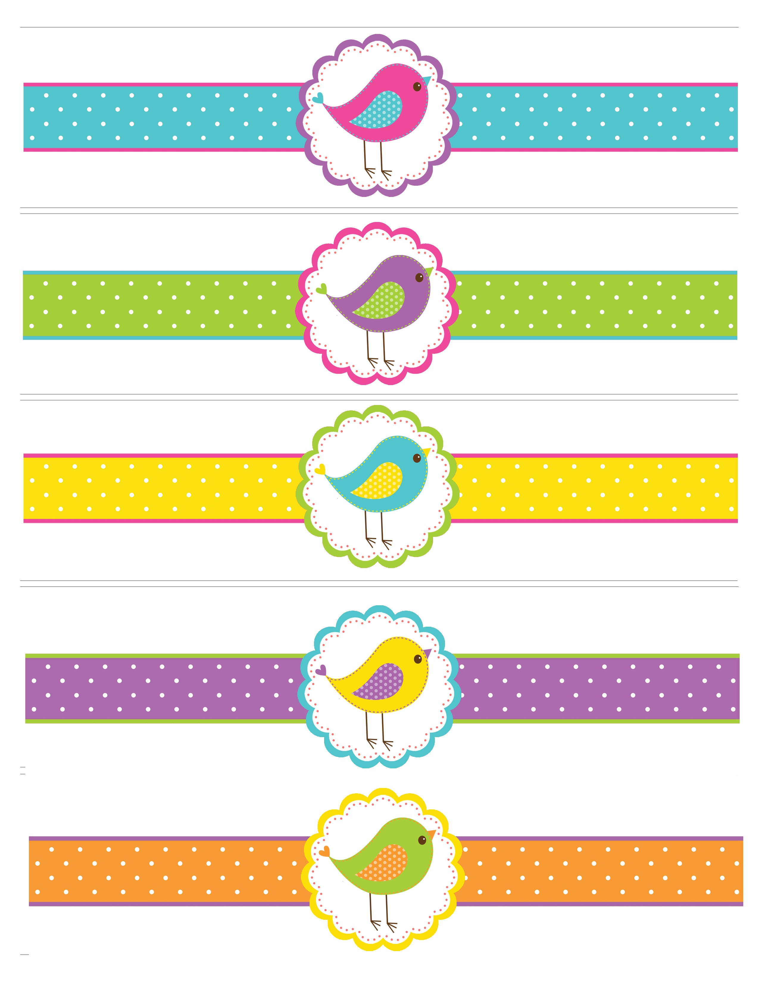 Bird Birthday Party With Free Printables