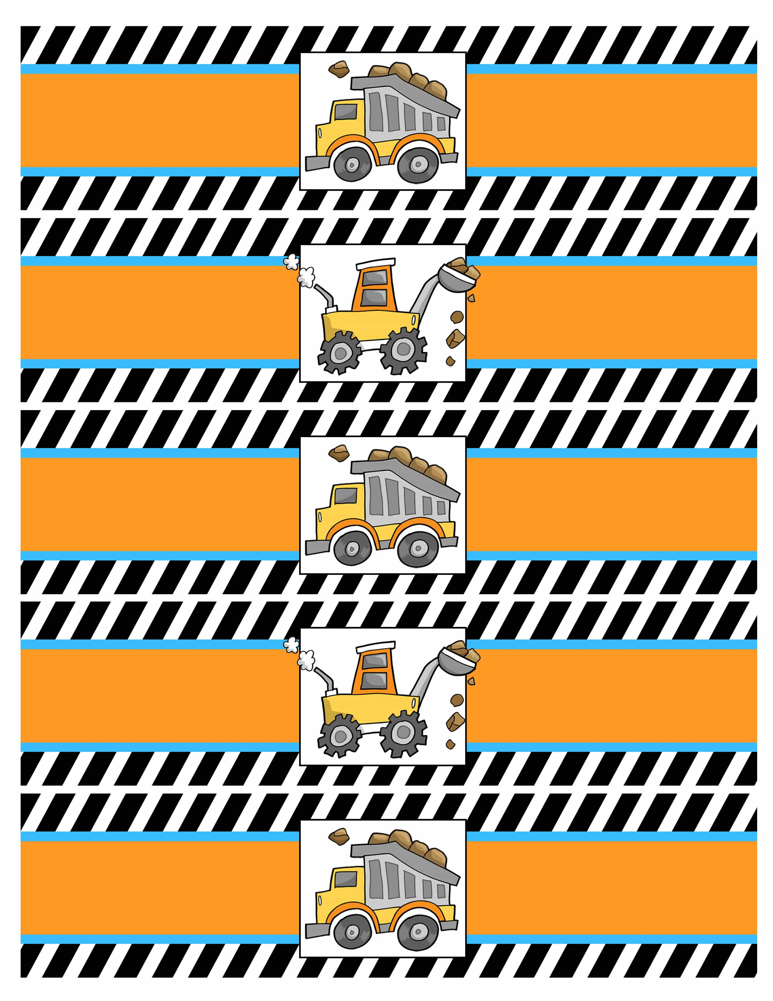 Construction Birthday Party With Free Printables How To