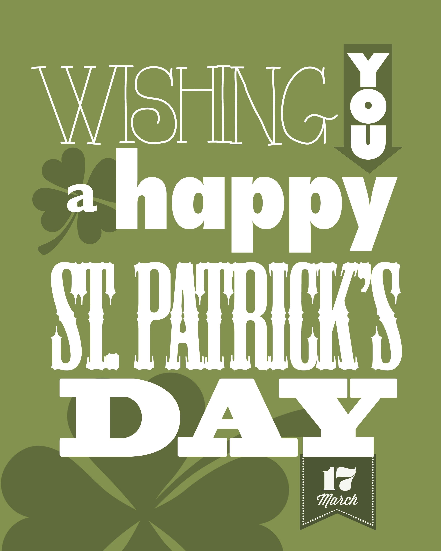 St Patrick S Day Free Printables