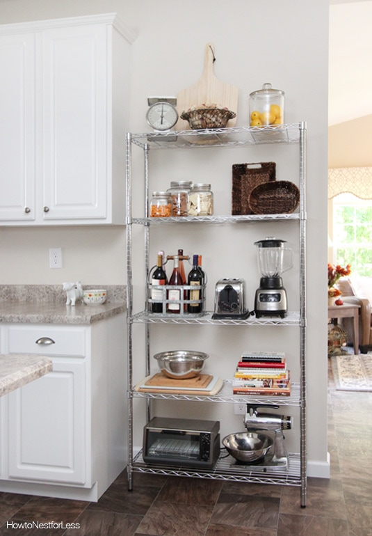 Kitchen Industrial Shelving Nest Less