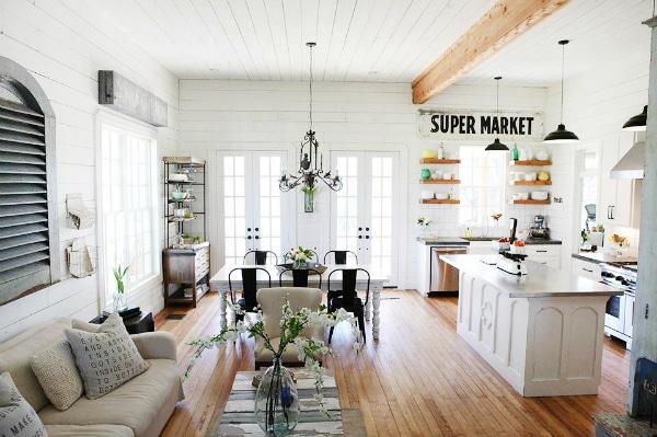 Farmhouse Kitchen Décor Ideas