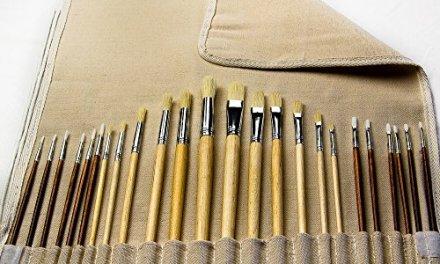 Painting Art Brush Set, 24 Assorted
