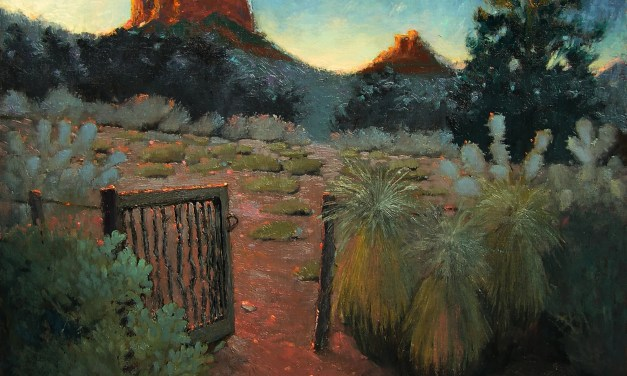 Plein Air, Multiple Days, One Painting