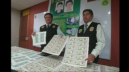 Fake money in Peru