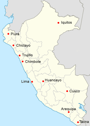 Cities in peru how to peru largest cities in peru gumiabroncs Image collections