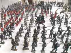 Soldiers in Trujillo toy museum