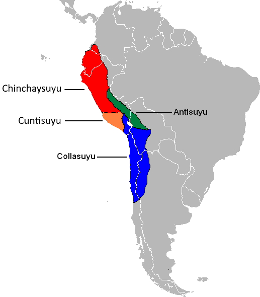 Inca Empire On World Map.The Tawantinsuyu And The Frontiers Of The Inca Empire How To Peru