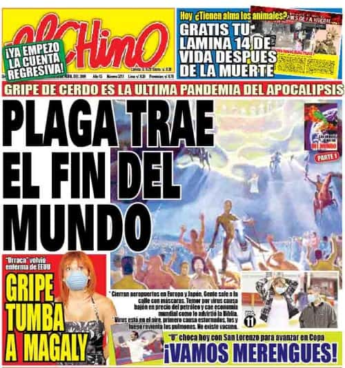 El Chino newspaper of Peru