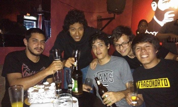 drinking in peru