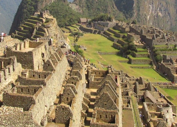 Photo of Machu Picchu in 2015