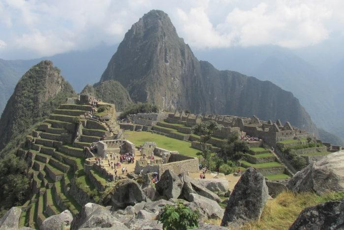 Machu Picchu restored
