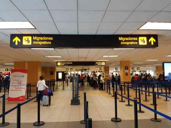 Immigrations Lima Airport