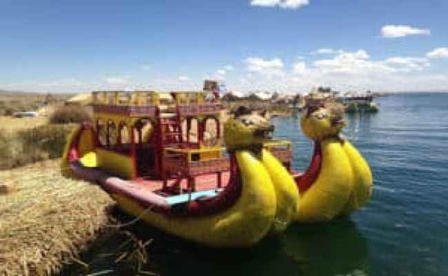 Lake Titicaca Experience - Reed Boat