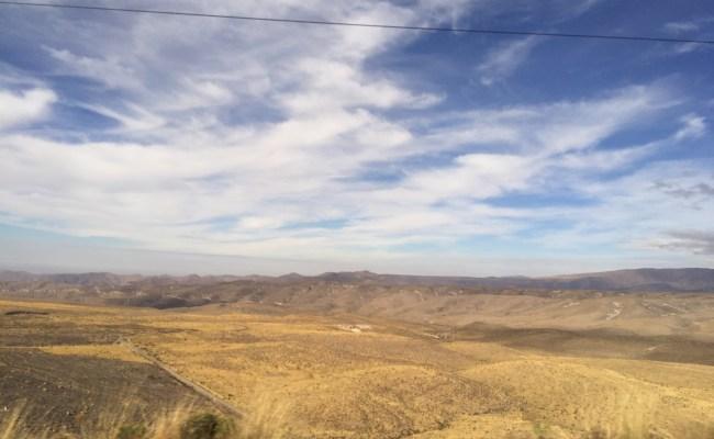 Peru Bolivia Border - scenery on the journey to la paz from lima