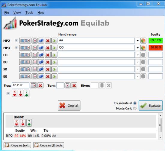 Poker pot equity 2