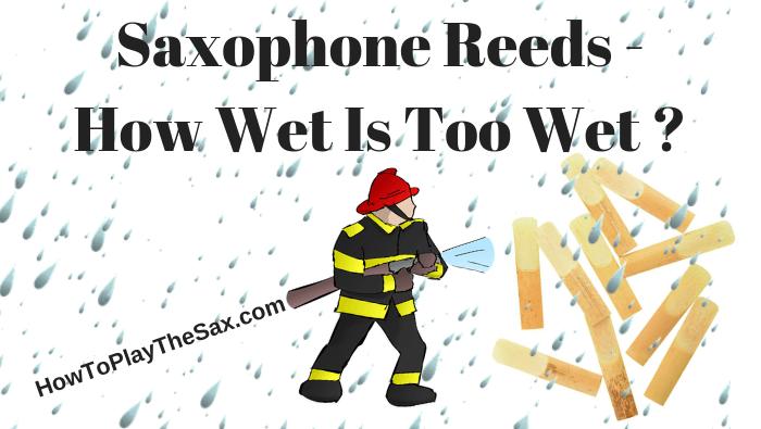 Saxophone Reeds – How Wet Is Too Wet ?
