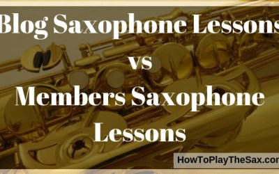 Blog Saxophone Lessons vs Members Saxophone Lessons