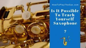Teach Yourself Saxophone