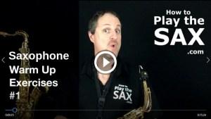 Saxophone Warm Ups
