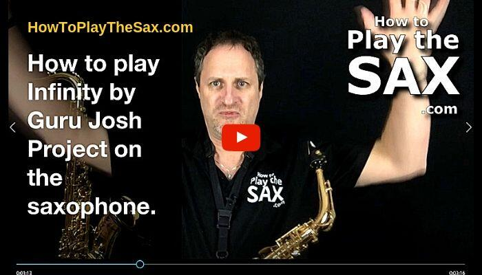 How To Play Infinity On The Saxophone