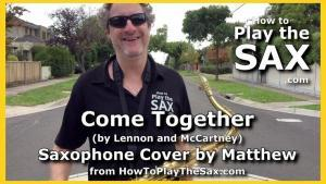 Come Together Saxophone Cover