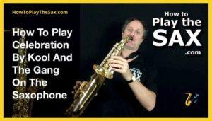 Celebration Saxophone Lesson