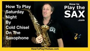 Saturday Night Cold Chisel Saxophone