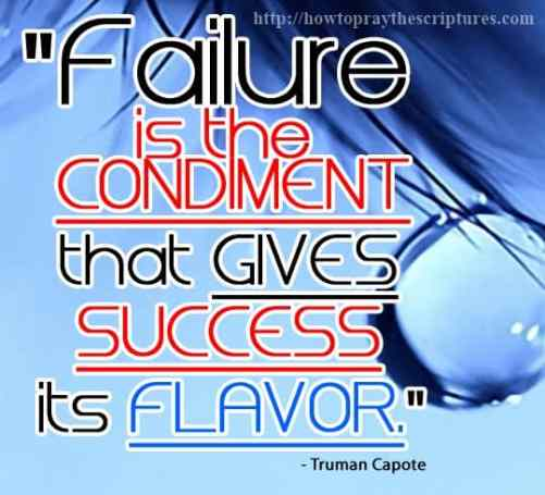 failure is the condiment