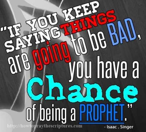 if you keep saying