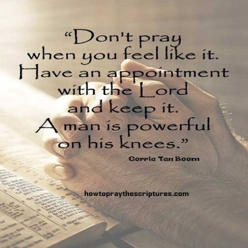 how to pray for encouragement