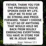 How To Pray Hebrews 12:1