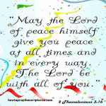 peace encouragement bible verses