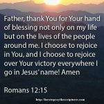 Prayer To Rejoice In Gods Victory